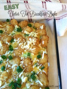 Easy Tator Tot Breakfast Bake
