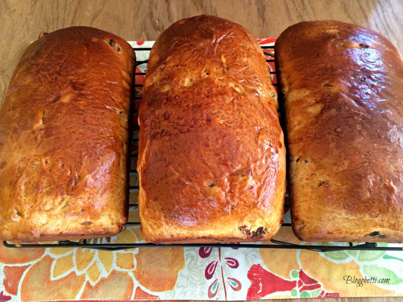3 loaves Babka Bread