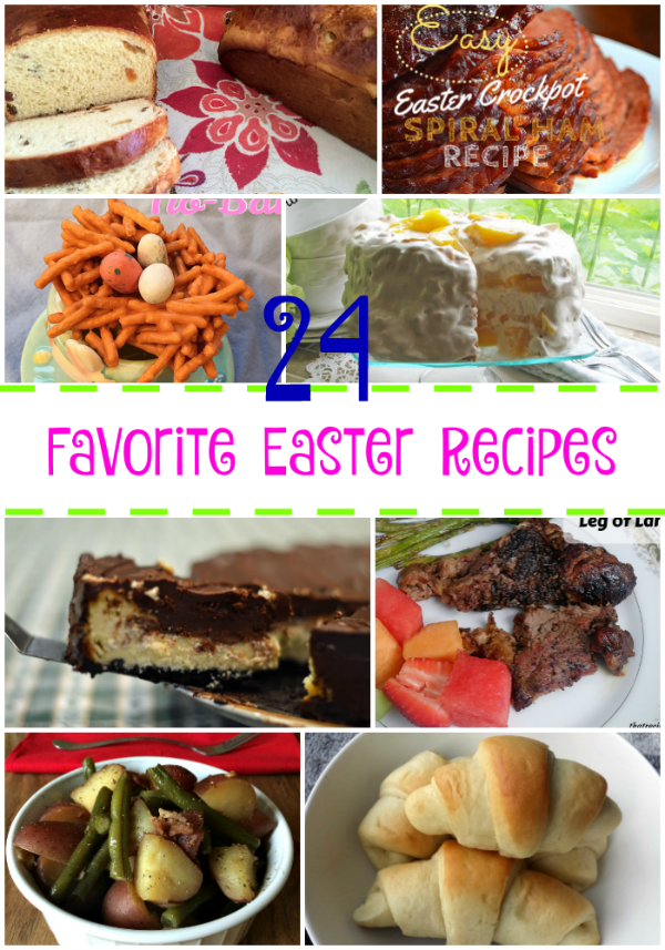 Favorite Easter Recipes Round-Up
