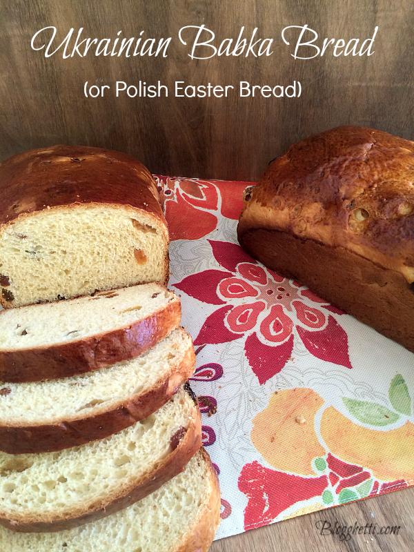 Ukrainian Babka Easter Bread