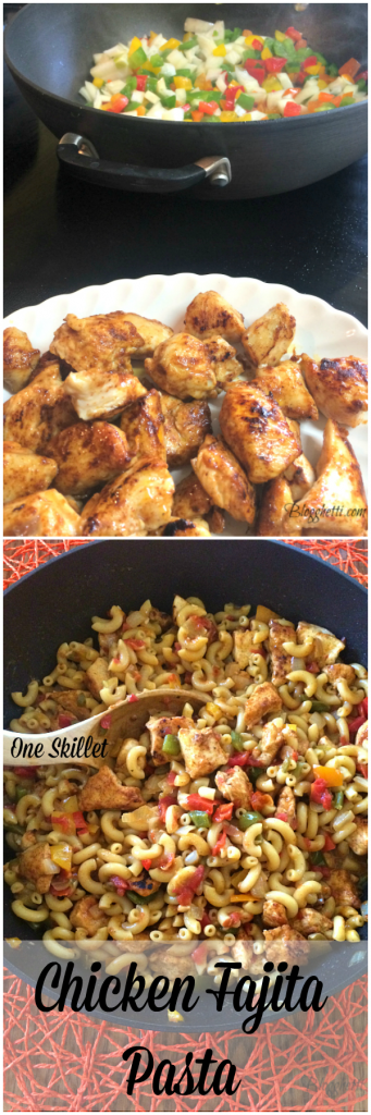 Pin it Chicken Fajita Pasta