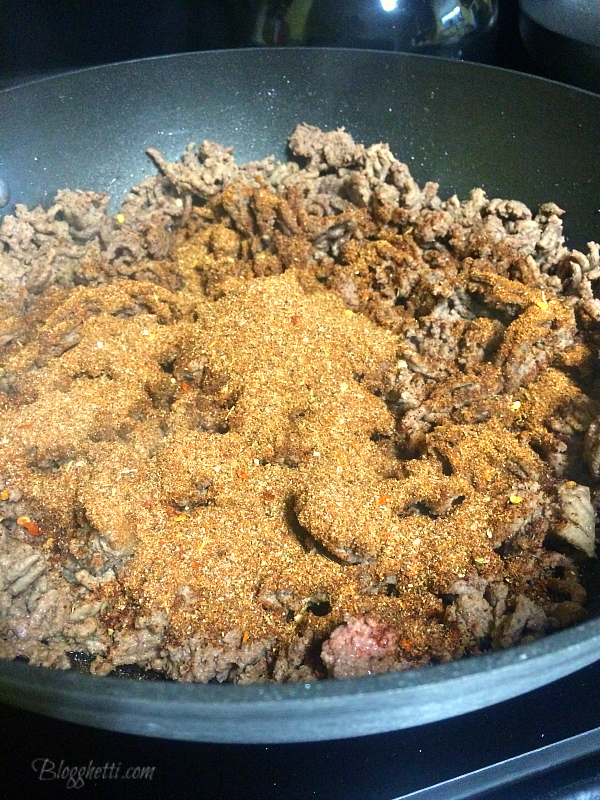 Homemade Taco Seasoning with lean ground beef from Laura's Lean Beef ...