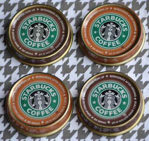 Infarrently Creative - Starbucks Magnets
