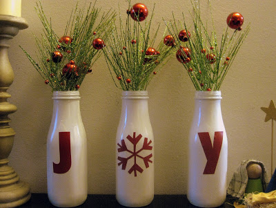 Mandi Being Crafty - Joy Bottles