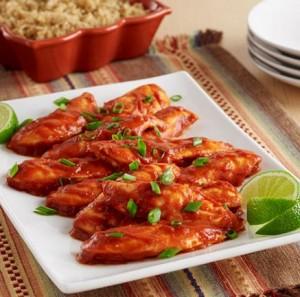 Spicy Sriracha Chicken (Guest Post)