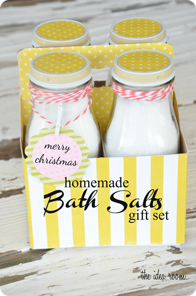 The Idea Room - Homemade Bath Salts GIft Set