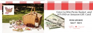 Picnic Giveaway! (Enter to win!)