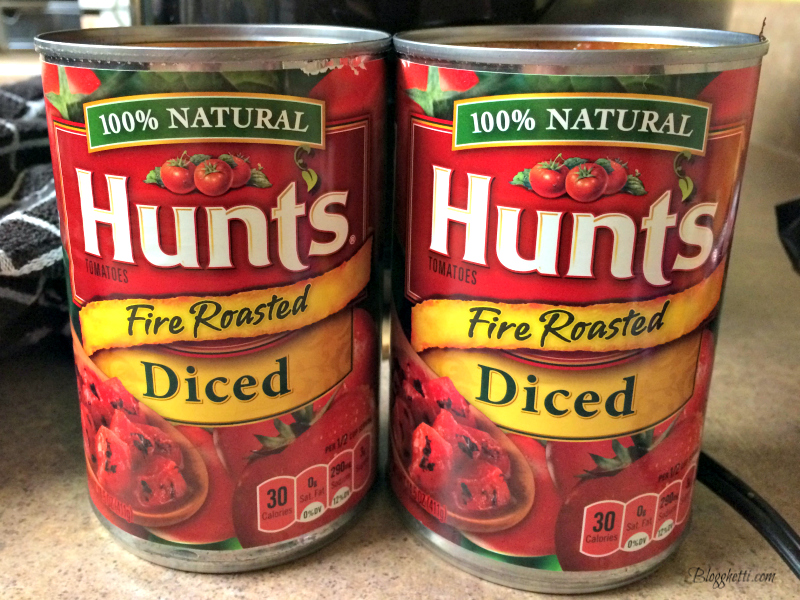 Hunts Fire Roasted Tomatoes