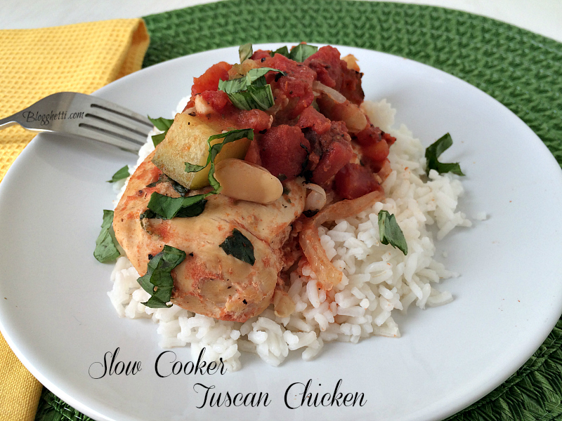 SlowCooker Tuscan Chicken