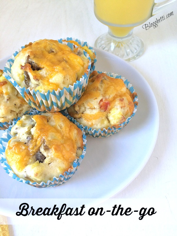 On the go Breakfast Muffins