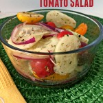 Meatless Monday - Cucumber Tomato Salad
