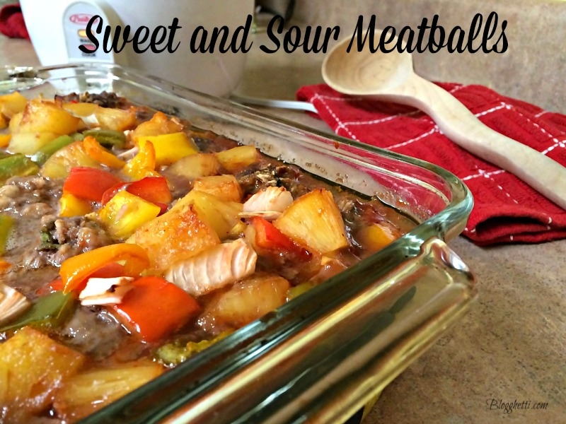 These sweet and sour meatballs are tender, perfectly seasoned, and cooked in a tangy sauce with bell peppers, onions, and pineapples. Whether you serve this as a main dish over rice or as a wonderful appetizer on game day or at a potluck, it will quickly become a favorite.