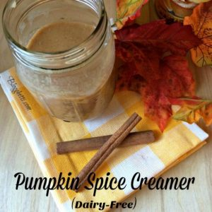 Homemade Pumpkin Spice Creamer (Dairy-Free)