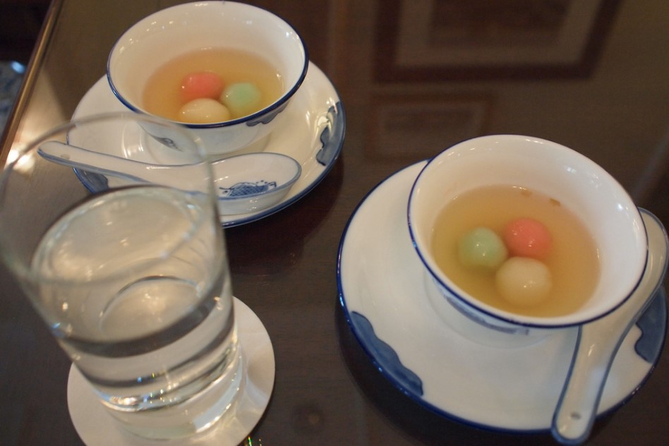 Tangyuan are sweet Chinese rice dumplings traditionally eaten during the Lantern Festival in celebration of the last day of the Chinese New Year period.