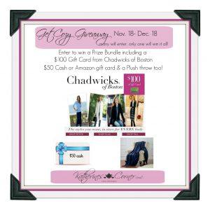 Get Cozy Giveaway!