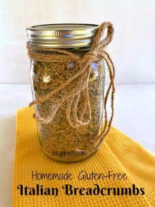 Homemade Gluten-Free Italian Breadcrumbs