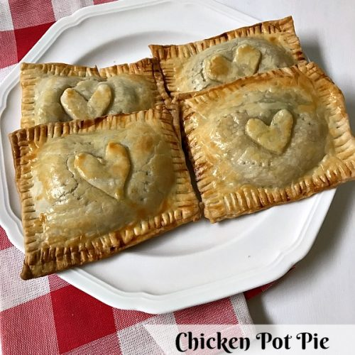 Easy Chicken Pot Pie Hand Pockets