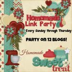 Happiness is Homemade Link Party 189. A place to share great DIY, crafts, home decor, holiday inspiration, recipes and get wonderful ideas for your home.