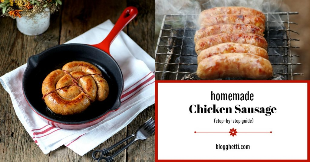 Making your own chicken sausage is very intriguing especially if you are a budding chef. By coming up with your own homemade chicken sausage, you can have a more nutritious food. You can limit or completely skip the use of additives that commercially-available processed foods are notorious for.