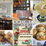 Happiness is Homemade Link Party: A Peek into Fall