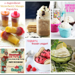 Welcome back to this week's Happiness is Homemade Link Party! It's August and this week's party is all about trying to stay cool with all of these refreshing ideas. You might choose popsicles or ice cream or a refreshing frozen coffee drink to make. Be sure to check out this week's features and the other awesome new posts from your hosts and fellow bloggers and have an awesome week ahead!