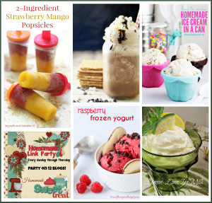 Delicious Frozen Treats Featured on Happiness is Homemade