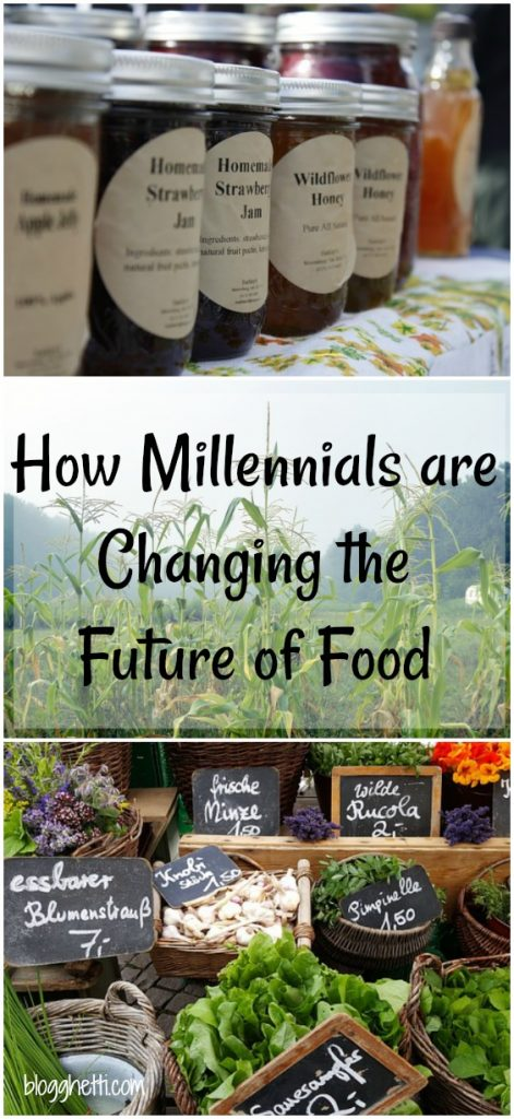 You may not know it but millennials have been changing the way we think about food and how we buy our food. It's a good trend that will not only enable us to make better diet choices but also care more about where our food comes from. Read on to get the scoop from Blogghetti's new monthly contributor, Nick Cesare, a fellow self-proclaimed foodie.