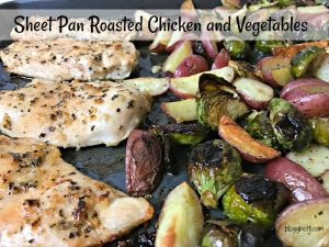Sheet Pan Roasted Chicken and Vegetables