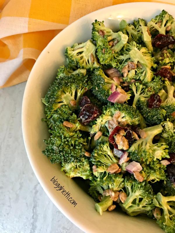 Paleo Broccoli Salad