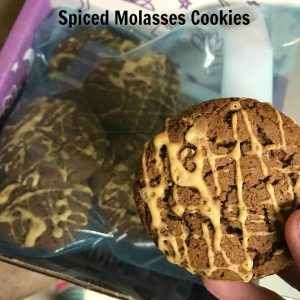 Spiced Molasses Cookies from Sarah Cooks the Books