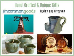 Hand-Crafted and Unique Gift Ideas at Uncommon Goods (Review & Giveaway)