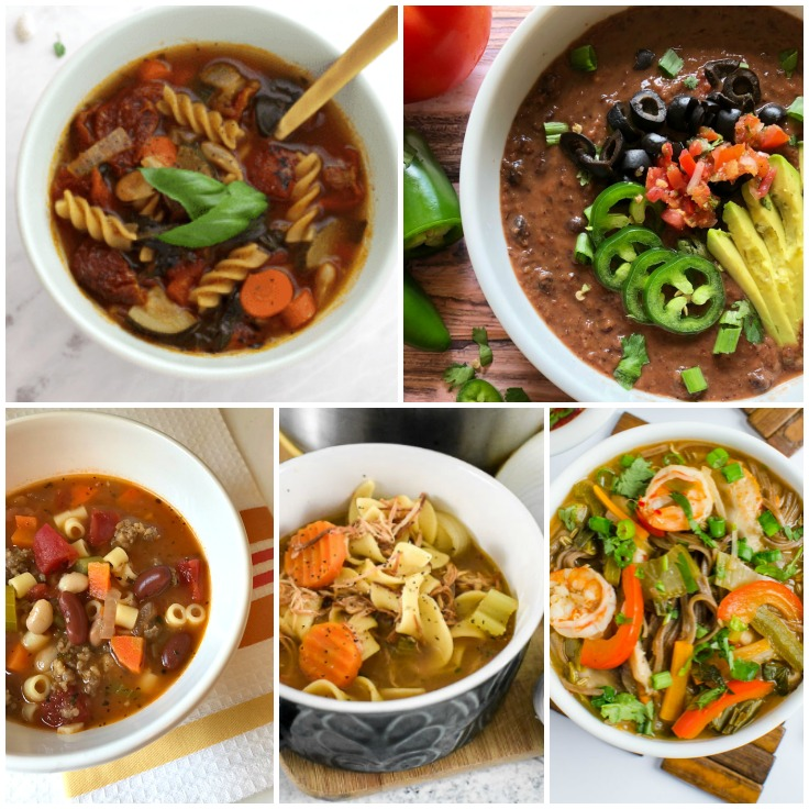 When the cold hits, nothing is more satisfying than a hot bowl of delicious soup! Here are 20 soup recipes that are ready in a flash, like 30 minutes or less so that you can warm your body and soul.