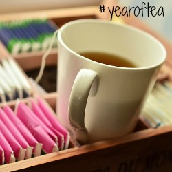 Follow my #yearoftea on Instagram