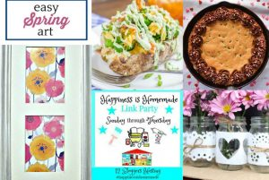 Happiness is Homemade Link Party: Get Ready for Spring!
