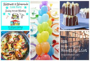 Happiness is Homemade Link Party: Good Reads, Recipes, and More