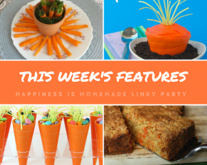 Happiness is Homemade Link Party: Crazy for Carrots!