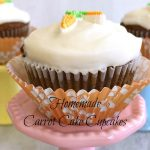 Homemade Carrot-Cake Cupcakes