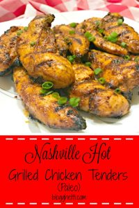 Paleo Nashville Hot Grilled Chicken Tenders