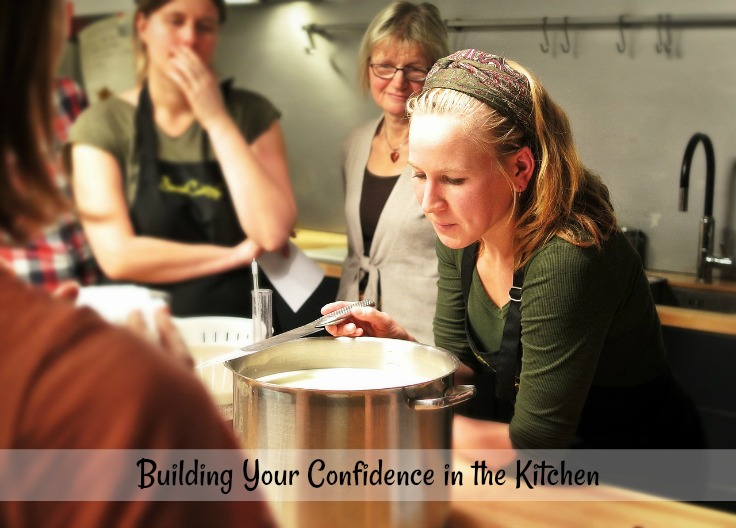 Build up your confidence in the kitchen