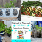 Happiness is Homemade Link Party:  Get your Gardens Going