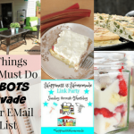 Happiness is Homemade Link Party: Fresh Tastes of Spring