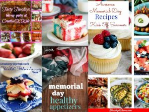 Tasty Tuesdays' Link Party: Kicking off Summer with Yummy Recipes