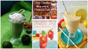 Tasty Tuesdays' Link Party: Tasty Summer Drinks