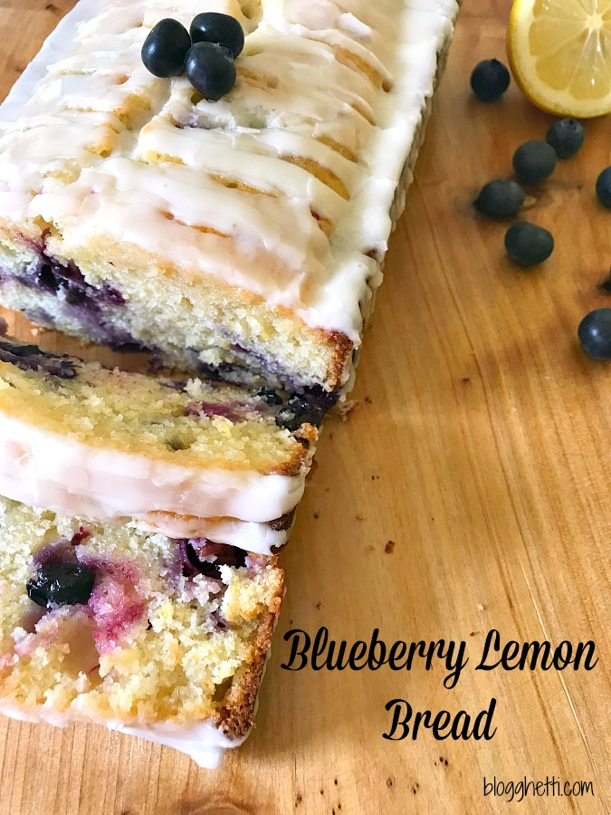 Blueberry Lemon Bread #blueberry #lemon