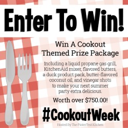 #CookoutWeek Giveaway