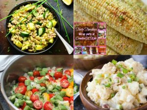 Summer Sides Dished Up on Tasty Tuesdays' Link Party
