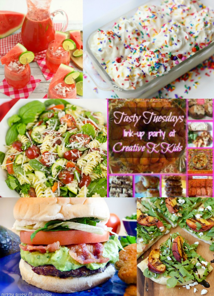 Tasty Tuesdays' Link Party features 6-26