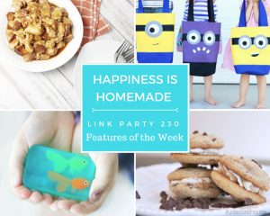 Welcome back to the Happiness is Homemade Link Party!