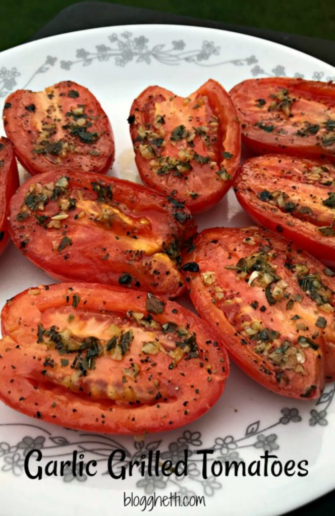 Garlic #Grilled #Tomatoes