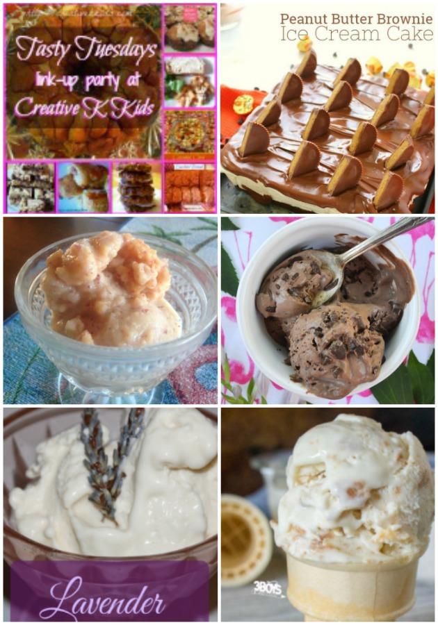 Ice Cream Recipes - Tasty Tuesdays